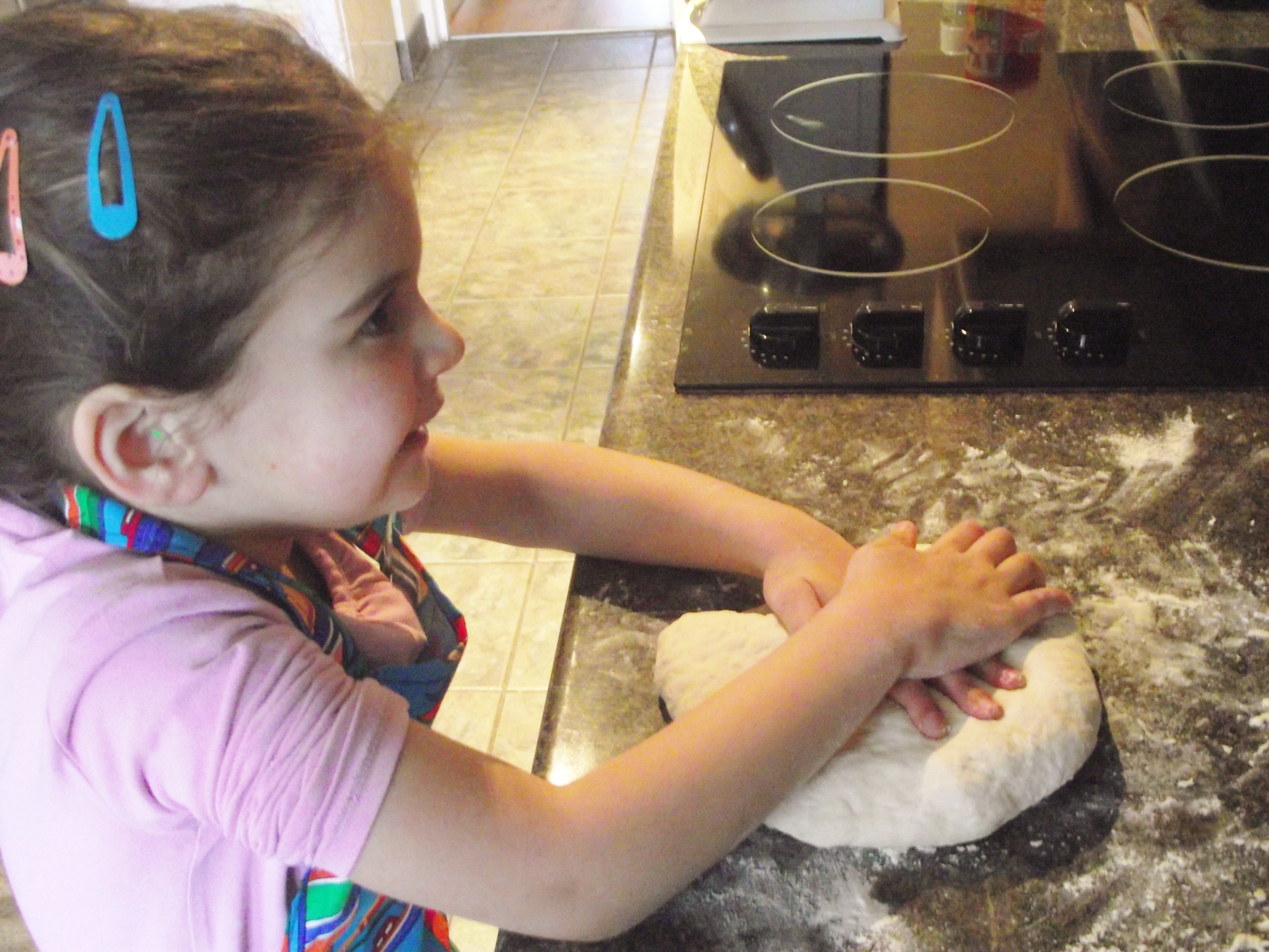 Cooking With Kids: Yummy Pizza Base and Dough Balls