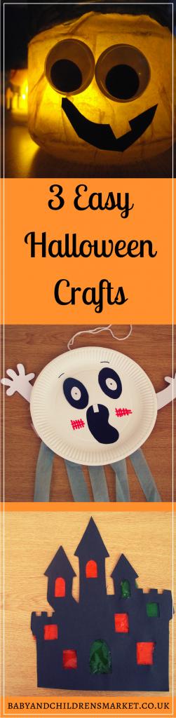 3 Easy Halloween Crafts
