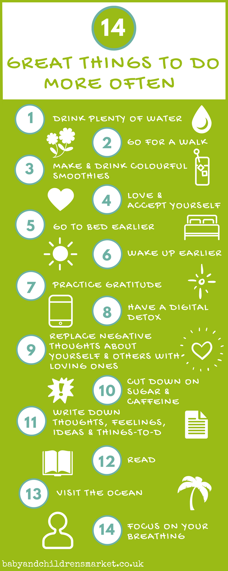 14 Great Things To Do More Often